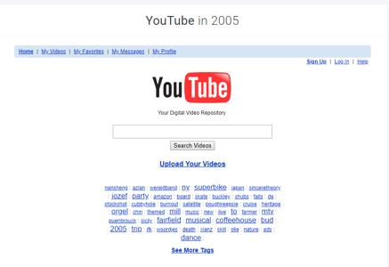 Youtube 2005